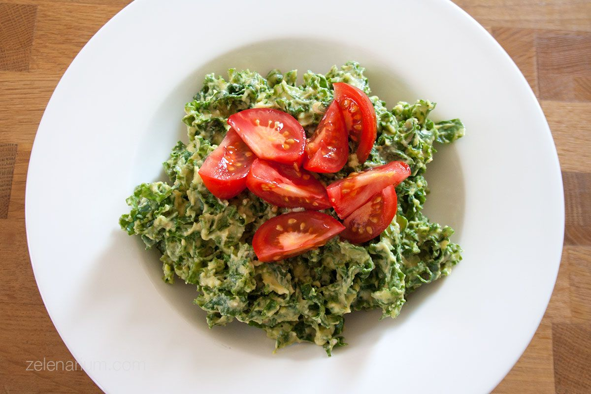 Salata kelj rajčica