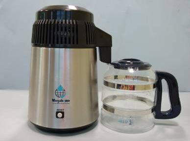 Destilator - inox sa crnim poklopcem