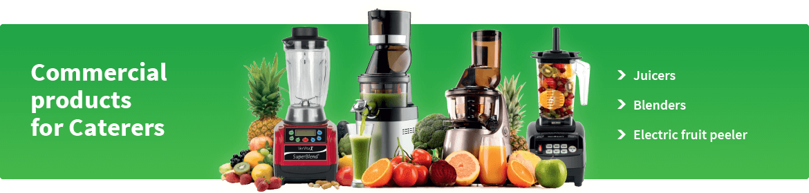 Commercial Blenders & Juicers for Caterers